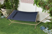 """Bliss Hammocks Comfort Classic Poly Quilted Hammock with """"S"""" Stitch Comfort Quilt, Multiple Colours"""