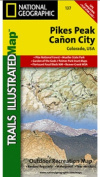 National Geographic TI00000137 Map Of Pikes Peak-Canon City - Colorado
