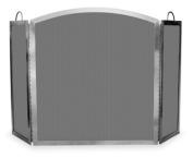 Uniflame S-7700 3 Fold Stainless Steel Screen Indoor/Outdoor