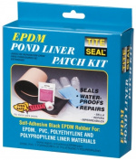 Cofair Products Inc PLKIT Black Self Adhesive EPDM Rubber Pond Liner Patch Kit