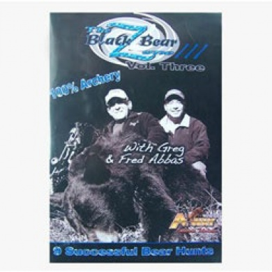 A Way Hunting Products 10082 The Black Bear Zone-3 DVD