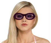 Costumes For All Occasions Ru8266 Glasses Velvitas Purple