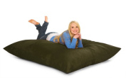 RelaxSacks 6PL-MS007 1.8m Relax Pillow Sack - Microsuede Olive
