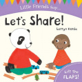 Let's Share! (Little Friends Say) [Board book]