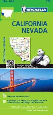 Michelin USA California, Nevada Map 174 (Michelin USA California, Nevada Map 174)