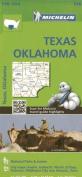 Michelin Texas, Oklahoma Map