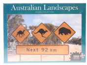 Australian Landscapes Jigsaw Collection [Paperback]