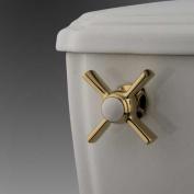 Kingston Brass KTZX2 Kingston Brass KTZX2 Millennium Toilet Tank Lever Polished Brass
