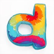 One Grace Place 10-34058D Terrific Tie Dye Letter Pillow D