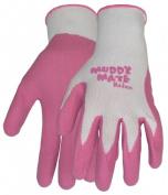 Boss Gloves Medium Bubble Gum Pink Muddy Mate Premium Gloves 9401PM