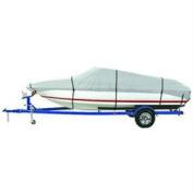 Dallas Manufacturing BC1301B Polyester Boat Cover B - 14 - 16 V - Hull Tri - Hull Runaboats & Alum. Bass Boats - Beam to 90