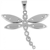 Doma Jewellery DJS01072 Stainless Steel Pendant - 47mm Height