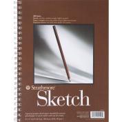 Strathmore Spiral Sketch Book 23cm x 30cm -100 Sheets