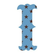 Wallcandy Arts si Luv Letters Stars I in Blue - Pack of 2