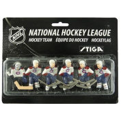 Stiga 7111-9090-16 Montreal Canadiens Table Rod Hockey Team Pack