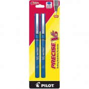 Pilot Pen Corporation 2 Count Blue Precise V5 Rolling Ball Pen 25002 - Pack of 6