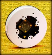 Wiremold 10.2cm . Ivory Round Ceiling Box B-4F