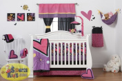 One Grace Place 10-26102 Sassy Shaylee's 4 Piece Bedding Set