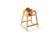 Foundations 4501049 Foundations Wood High Chair Natural