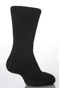 Mens 7-12 BLK Socks
