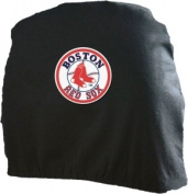 Caseys Distributing 8162093055 Boston Red Sox Headrest Covers