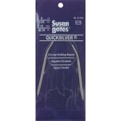 Susan Bates 71781 Quicksilver Circular Knitting Needle 70cm . -Size 13