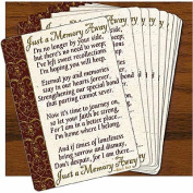 Abbey Press 44147C Just A Memory Away Prayer Cards