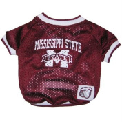 Mirage Pet Products Mississippi State Bulldogs Jersey for Dogs and Cats, X-Small