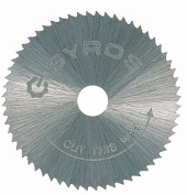 Gyros Precision Tools Inc .190.5cm . Fine Tooth Gyros Steel Saw Blade 81-10715