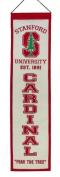 Stanford Cardinal NCAA 20cm x 80cm Veritcal Banner Flag Stanford Winning Streak