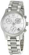 Michael Kors MK5428 Womens Stainless Steel Chronograph Quartz Silver Dial Date Display