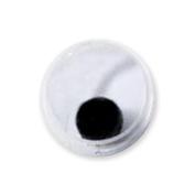 Darice 454585 Paste On Wiggle Eyes 4mm 410-Pkg-Black