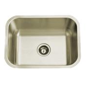 Kingston Brass KU23189BN Chicago Stainless Steel Undermount Single Bowl Kitchen Sink