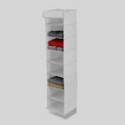 Honey-Can-Do SFT-01275 8 Shelf Hanging Organizer - Polyester - Navy