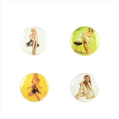 Il Bere C-PINUP-B Wine and Drink Charms Fun Collection - Bombshell