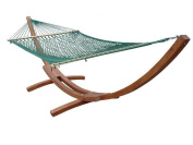 Vivere COT21 Cotton Rope Hammock- Double- Natural
