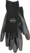 Boss Gloves Medium Black Nitrile Palm Gloves 8436M