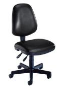 OFM 119-VAM-606 Vinyl Posture Task Chair-Black