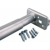 John Sterling Corporation 76.2cm . To 121.9cm . Platinum Adjustable Closet Rod RP0022-30-4