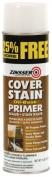 Rustoleum 3609 470ml Flat White Cover Stain Oil-Base Primer Sealer Spray - Pack of 6
