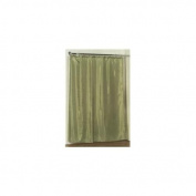 Carnation Home Fashions SC-FAB/42 70 in. x 72 in. Fabric Shower Curtain Liner - Sage