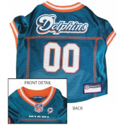 Pets First MDJ-XS Miami Dolphins NFL Dog Jersey - Extra Small