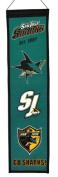 Winning Streaks Sports 47038 San Jose Sharks Heritage Banner