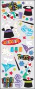 Sticko 473458 Puffy Classic Stickers-Magic Show