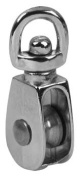 Apex Tool Group - Chain 2.5cm . Nickel Swivel Eye Single Sheave Pulley T7655012