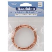 Beadalon 180CU022 German Style Round Wire 22 Gauge 10m/Pkg