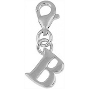 Doma Jewellery DJS01646 Sterling Silver Initial Charm - B