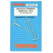 Thexton THX583 Deutsch Terminal Removal Tools for 16 Gauge Wire