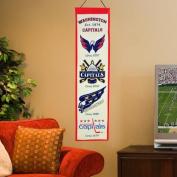 Winning Streaks Sports 47029 Washington Capitals Heritage Banner