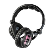 DecalGirl KHP-PLAID-PNK KICKER HP541 Headphone Skin - Pink Plaid